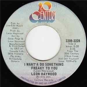Leon Haywood - I Want' A Do Something Freaky To You